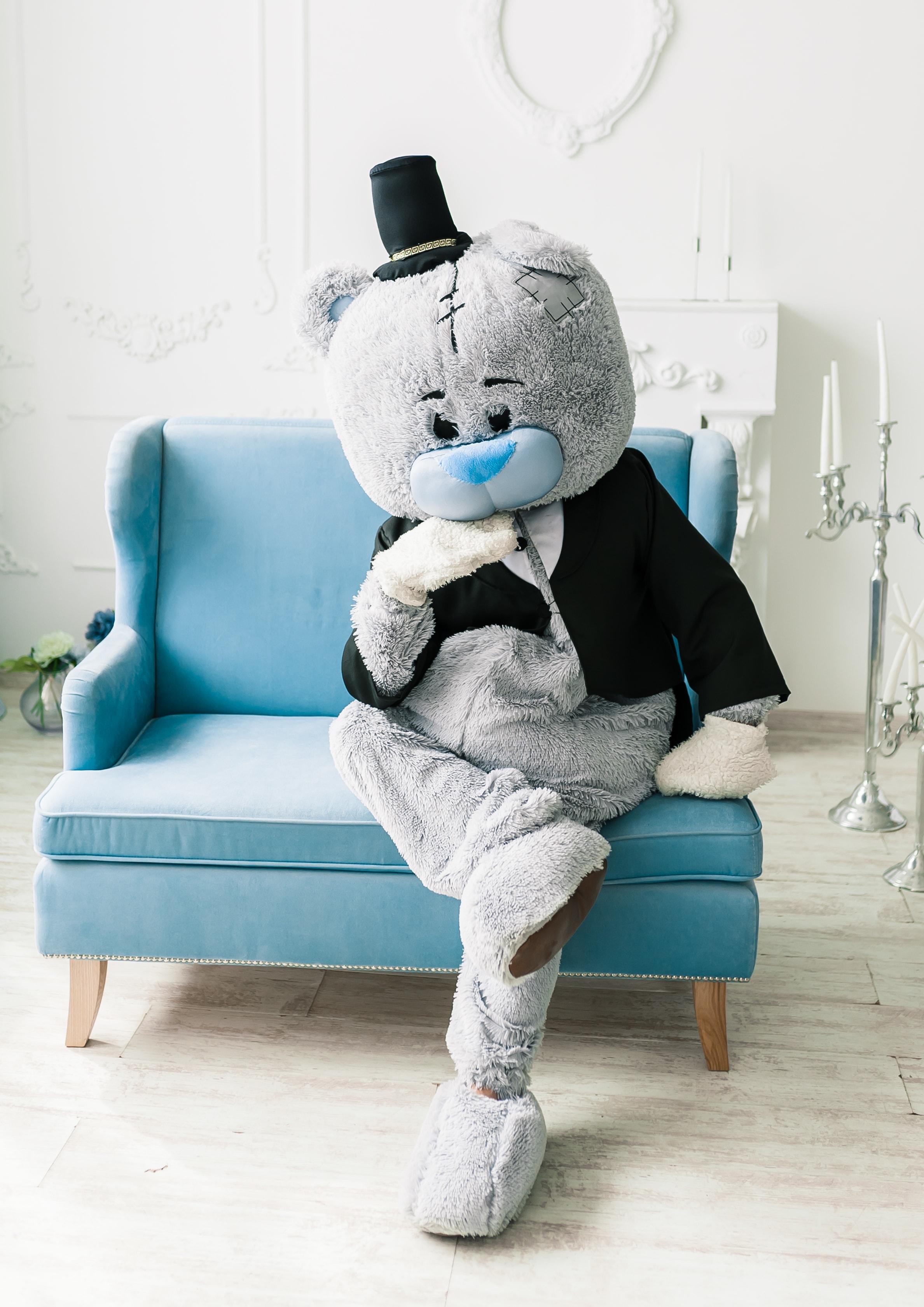 Ведмедик Тедді на день народження