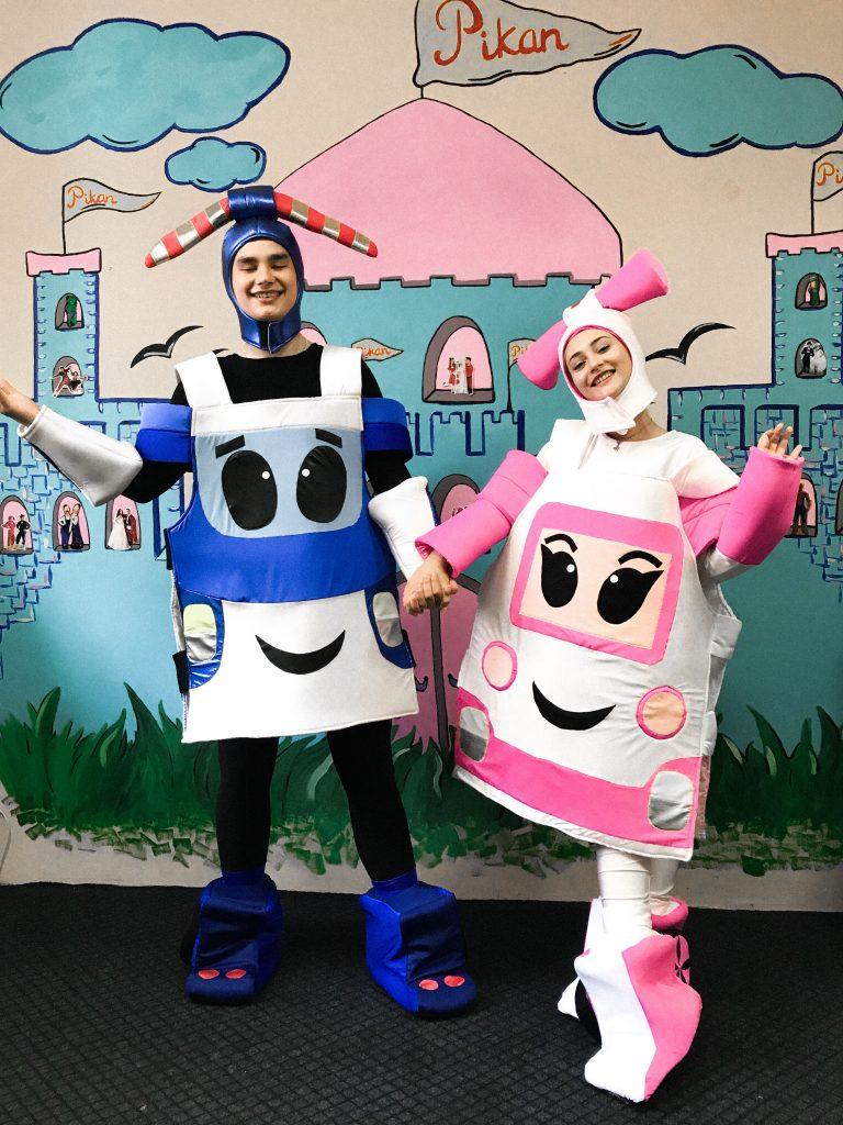 Робокар Полі та Ембер Робокар